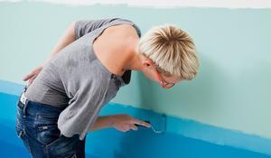 KROK IV - stopniowanie kolorów ściany