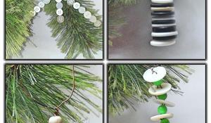 Gotowe dekoracje z guzików